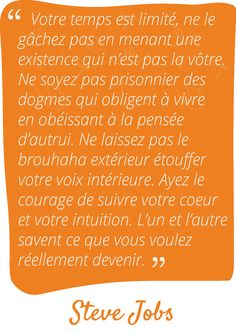Paroles de sages sur Bloomr #stevejobs