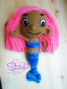 Crochet Molly – Bubble Guppies