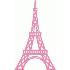 Easy Eiffel Tower Drawing These Die Cuts Will Make Great Vinyl