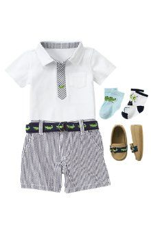 If I had a little boy this would be his Easter outfit! w/ boat shoes would be too cute!! :)