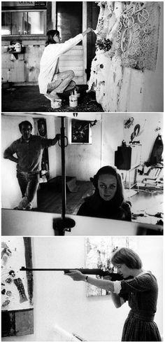 Niki de Saint Phalle Jean Tinguely, Artist Art, Artist At Work, Lee Krasner, Chelsea Hotel, Art Corner, Feminist Art, Art Studies, Artists Like