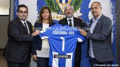 Novanca Caja Rural de Jaén renueva por un año su patrocinio del CD Leganés