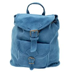 Suede Leather Backpack, Handmade in Greece, Radiant Colors: Aqua, Baby Blue, Dark Blue Leather Pouch, Suede Leather, Metal Buckles, Soft Suede, Italian Leather, Baby Blue, Fashion Backpack, Aqua, Leather Backpacks