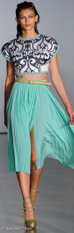 Aquilano.Rimondi Spring Summer 2012 Ready-To-Wear