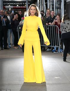 'Standing in solidarity isn't enough!' Blake Lively says Harvey Weinstein's behavior is widespread as she calls for action during an appearance on Good Morning America