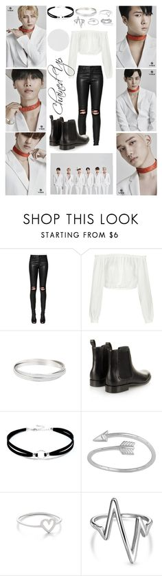 """VIXX CHAINED UP STAGE"" by park-ji-eun ❤ liked on Polyvore featuring RtA, Elizabeth and James, Lanvin, LULUS, Midsummer Star, Bling Jewelry and Palm Beach Jewelry"