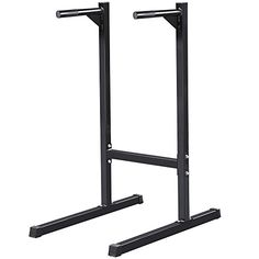 Yaheetech Heavy Duty Dip Stand Parallel Bar Bicep Triceps Home Gym Dipping Station – Barbell Academy