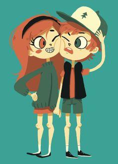 ~Hello Gorgeous~ Pines Twins