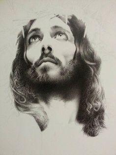 gabriela в Твиттере: «'Jesus of Nazareth' by giampiero damanias #art #drawing…