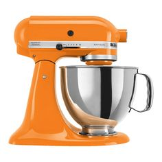 KitchenAid Artisan Series Stand Mixer » Love the orange!