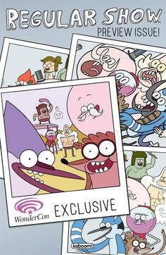 Boom Announces 'Regular Show' Preview Comic For WonderCon
