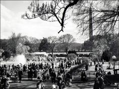 Historic Photographs: Reports from White House Easter Egg Rolls Past | White House History