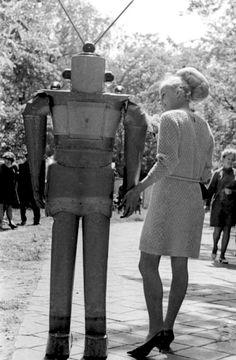 Friendly robots of the Soviet Union.