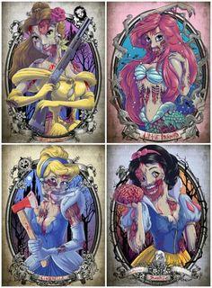 20 sorprendentes transformaciones de las Princesas de Disney - Artículo de Arte - Arte y animación, Graciosos, bromas y fails - Videisimo