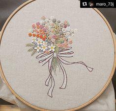 @maro_73j #needlework #handembroidery #ricamo #bordado #embroidery #broderie