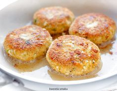 Kotlety jajeczne z kaszą jaglaną Veggie Recipes, Baby Food Recipes, Vegetarian Recipes, Snack Recipes, Cooking Recipes, Healthy Recipes, Eat Happy, Vegan, Everyday Food