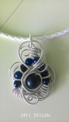 WIRE WORK AND LAPIS..