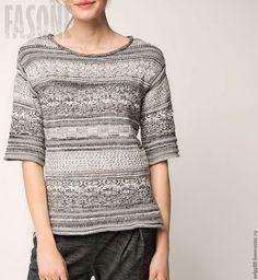 Свитер вязаный, свитер женский, свитер светлый, свитер шерстяной, свитер хлопковый, свитер однотонный, свитер модный, свитер стильный