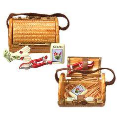 Limoges - Adorable Garden Bag w/  clippers, gloves & seeds