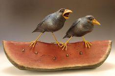 Blackbird Squawking