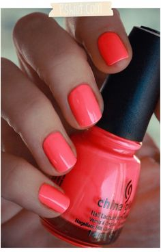 my fave nail polish brand -- china glaze -- and one of my fave colors (flip flop fantasy)