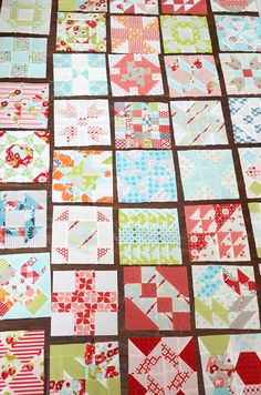 Simplify: The makings of a Farmer's Wife - tips for piecing farmers wife blocks