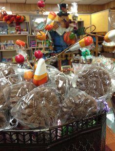 Thanksgiving Spirit in the Shop! www.dunmorecandykitchen.com