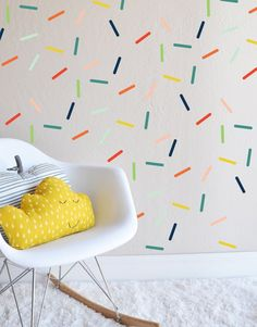 Random Colorful Sprinkles -Wall Decal (23.00 USD) by TheLovelyWall