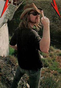 James Hetfield tells you to fuck off.