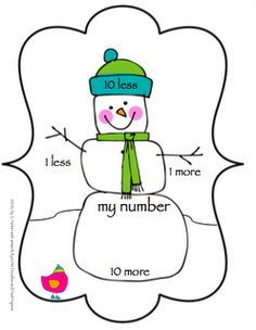 Very cute visual organizer to use as companion with hundreds chart....freebie includes game instructions