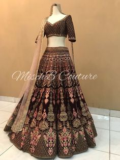 Jcreations's Shop - Buy Sarees, Kurtas, Lehenga Cholis Online on MyShopPrime Indian Lehenga, Bridal Lehenga Choli, Indian Gowns, Indian Attire, Indian Ethnic Wear, Pakistani Dresses, Indian Wedding Wear, Indian Bridal Outfits, Indian Bridal Fashion