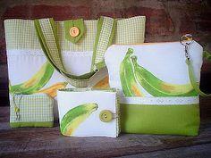 Casa al mare Patchwork: bananas