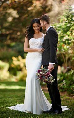 Wedding Dress Pictures, Wedding Dress Styles, Dream Wedding Dresses, Designer Wedding Dresses, Bridal Dresses, Wedding Gowns, Bridesmaid Dresses, Sheath Dresses, Bridesmaids