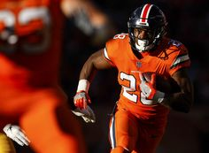 b89983ead Denver Broncos running back Royce Freeman (28) runs the ball during an NFL  football