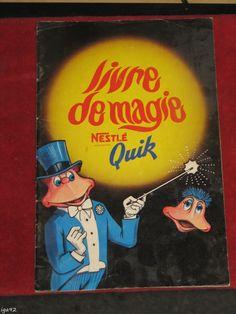 Nestle Quik Small Book of Magic Tricks French Livre de Magie | eBay