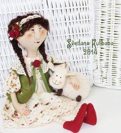 Жили были куклы веселушки Светланы Кулибабы : Пастушка