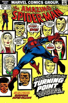 Amazing Spider Man 121 Death of Gwen Stacy Comic Book Cover Magnet Romita Marvel Comics, Old Comics, Marvel Comic Books, Vintage Comics, Comic Books Art, Book Art, Comic Superheroes, Amazing Spiderman, Mafex Spiderman
