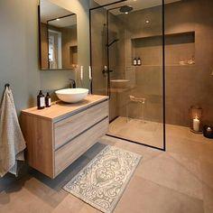 Cozy Bathroom Design Ideas To Help You Rileks Cozy Bathroom, Bathroom Goals, Small Bathroom, Bathroom Ideas, Scandinavian Bathroom, Beige Bathroom, Vanity Bathroom, Bathroom Layout, Bathroom Storage