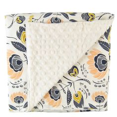 Minky Blanket - Red Sail - Super-soft, durable, and adorable, this machine washable cotton baby blanket will become your little one's favorite blanky. Made by Little Peaches Shop in Lancaster County, Pennsylvania.