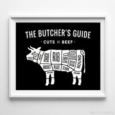 7c7ce47d6 10 Best Butcher's Guide Prints images | Meat lovers, Baby sheep ...
