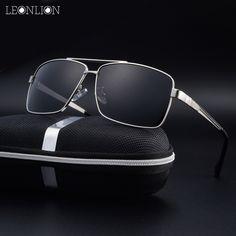 c459094c28c LeonLion 2017 Polarized Sunglasses For Men Classic Vintage Sunglass Top  Fishing Men s Glasses Alloy Goggle Male Eyewear HD UV400-in Sunglasses from  Men s ...