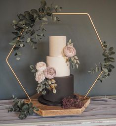 Excited to share this item from my #etsy shop: Hexagon  suitable for a cake display if purchased with a base. Wedding hexagon decor.