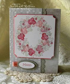 CAS18 Rose Trio by StampingQueenJAR - Cards and Paper Crafts at Splitcoaststampers