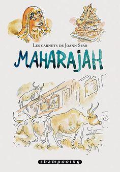 Les carnets de Joann Sfar - Maharajah • Joann Sfar