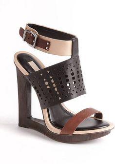 b9cd4bac02c22b BCBGMAXAZRIA Meteur Cutout Heel Sandals - Lyst World Of Fashion