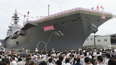 Experts say that although technically the Izumo is a destroyer, it could potentially be used in the future to launch fighter jets or other aircraft