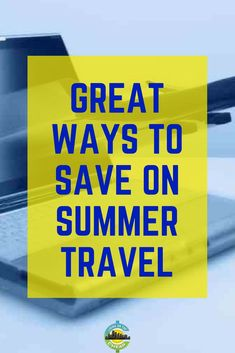 Great ways to save on summer travel - Living On The Cheap Cheap Travel, Budget Travel, Airfare Deals, Frugal Living Tips, Best Vacations, Summer Travel, Ways To Save, Trip Planning, Saving Money
