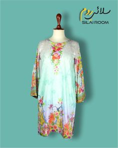 Shirt with Digital Print Full sleeves (Bell Shape) Fabric: Lawn Full Sleeves, Lawn, Digital Prints, Kimono Top, Tunic Tops, Shapes, Fabric, Summer, Collection