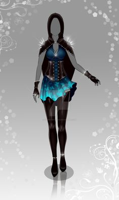 3b40bb32214d (closed) Auction Adopt - Outfit 377 by CherrysDesigns Anime Outfits