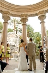 Mandalay Bay Wedding Valley Of The Falls Las Vegas